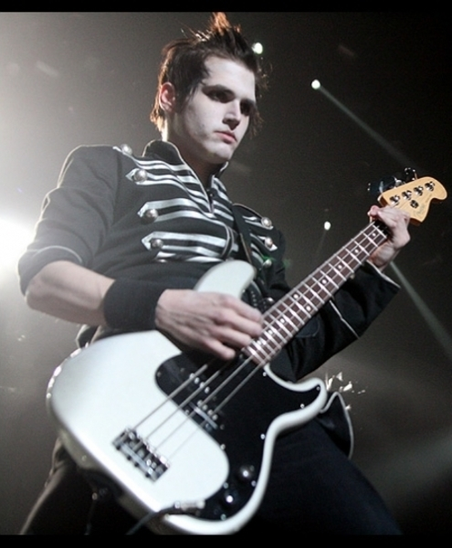 Mikey Way's Fender Precision Bass