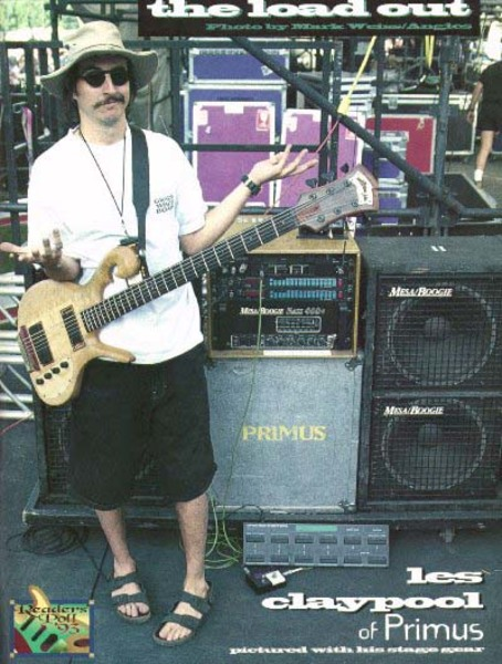 Les Claypool's Mesa/Boogie Bass 400+ Amp Head