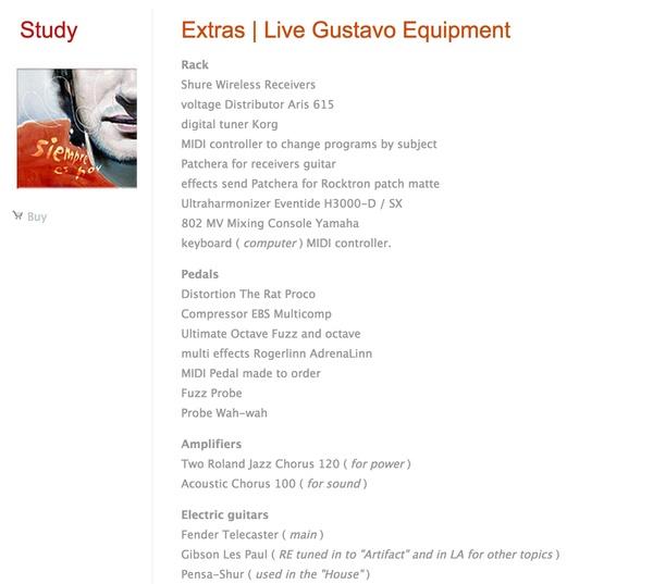 Gustavo Cerati's ZVex Wah Probe Guitar Effects Pedal