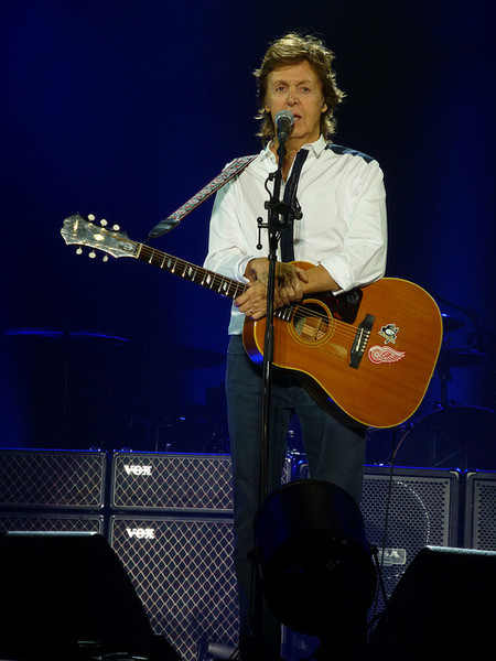 Paul McCartney's Epiphone FT-79 Texan