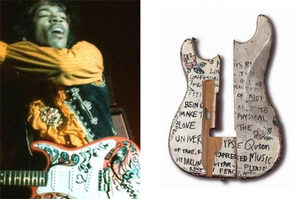 Jimi Hendrix's Jimi Hendrix Smashed Saville Theatre Sgt. Pepper's Strat