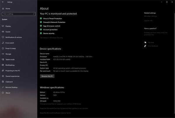 Shimron Elit's Microsoft Windows 10 Pro | Equipboard®