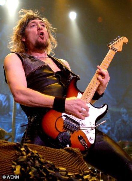 Adrian Smith's Fender American Standard Stratocaster            (Duplicate)