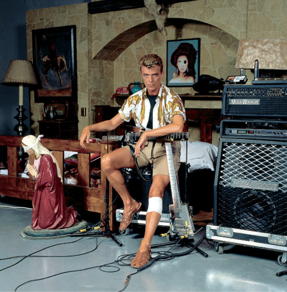 David Bowie's Mesa/Boogie 2x12 Cabinet
