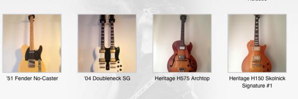 Alex Skolnick's Fender No-Caster