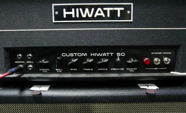 Ruben Block's Hiwatt DR504 Custom 50 Head
