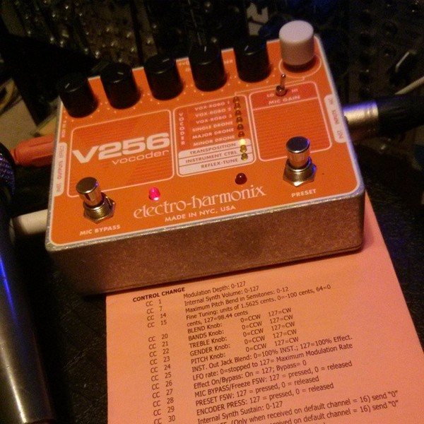 Paul Birken's Electro-Harmonix V256
