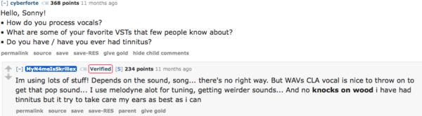 Skrillex's Waves CLA Vocals