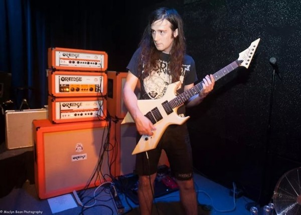 Spencer Hazard's Orange Amplifiers Crush CR120H 120W Guitar Amp Head