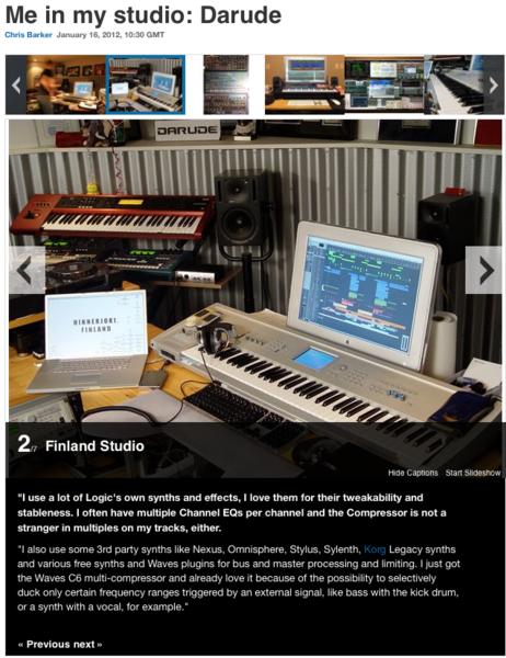 Darude's Lennar Digital Sylenth1 Software Synthesizer